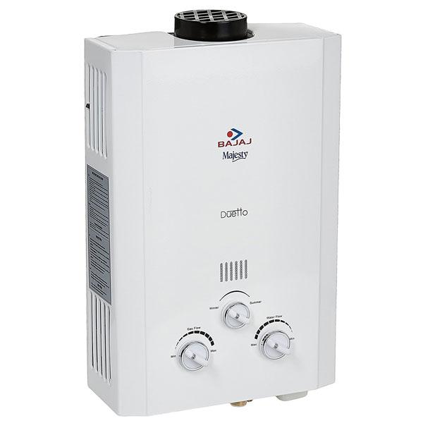 Buy Bajaj Majesty Duetto Lpg 6 Litre Water Heater Online