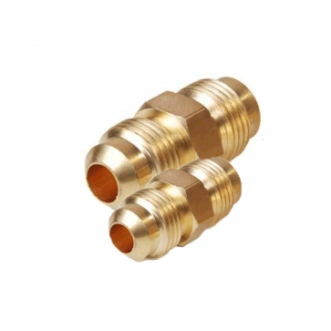 Brass Flare Union Connector 1-1/8 inch (Pack of 2)