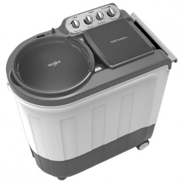 Whirlpool Ace Turbo Dry Silver Grey 8.5 kg Semi Automatic Washing Machine