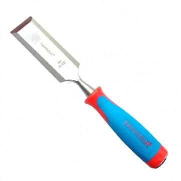 Taparia Bevelled Edge Chisel Set WCB 32mm WCB 38mm WCB 51mm rubber grip handle (Set of 3)