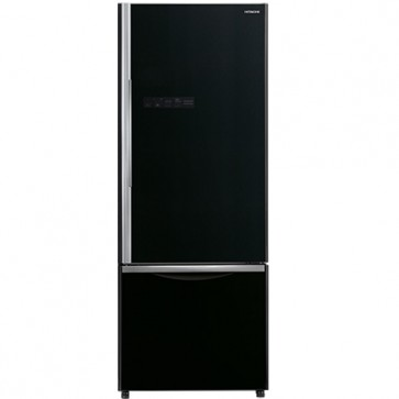 Hitachi R-B500PND6-GBK 2 Star Inverter Refrigerator 466 L Bottom Freezer Glass Black (2 Door)