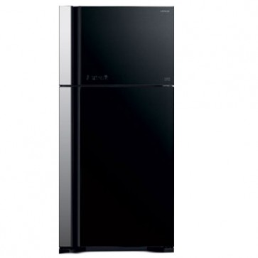 Hitachi R-VG660PND7-GGR 2 Star Inverter Refrigerator 601 L Glass Grey (2 Door)