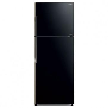 Hitachi R-VG470PND8 -GBK-NSL 2 Star Inverter Refrigerator 443 L Glass Black (2 Door)