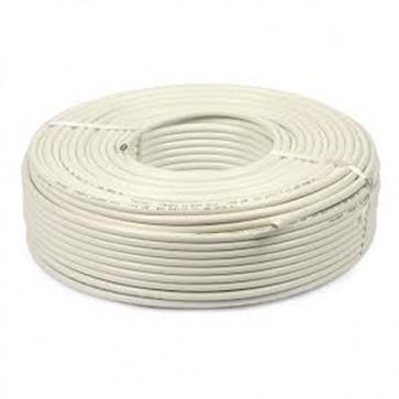Baba PVC Insulated 3 mm 3 core Copper Wire 45 meter (White)