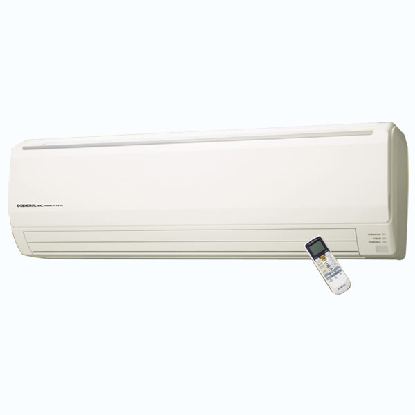 O General ASGG24LFCD  2 Ton 4 Star Hot & Cold Inverter Split AC R410A Copper