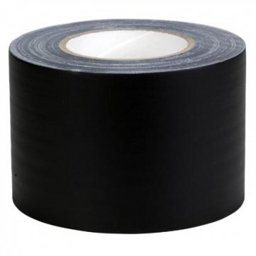 Super 3 inch Black Packing Tape 100 meter (Pack of 6)