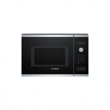 Bosch BFL553MS0I Built-in Microwave 25 L Stainless Steel (Black/Steel)