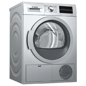Bosch WTG86409IN 7 kg Condenser Dryer Silver