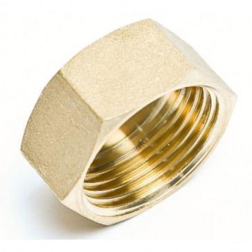 Brass C Cap 1/4 inch (Pack of 5)