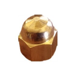 Brass Dead Nut 3/8 inch (Pack of 4)