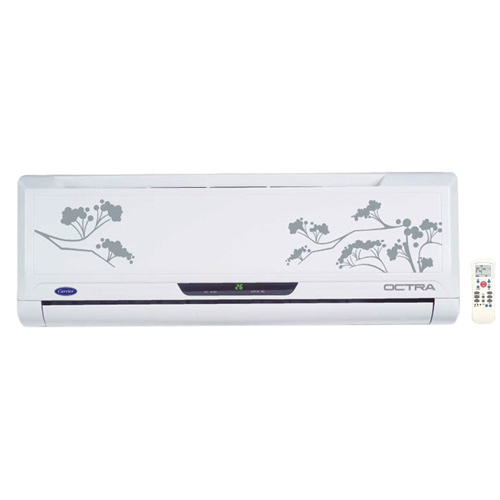 Carrier 1.5 Ton 5 Star Octra Split AC white