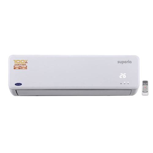 Carrier 1 Ton 5 Star Superia Split AC white