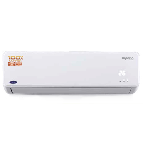 Carrier 1 Ton Superia Inverter 5 Star Split Air Conditioner