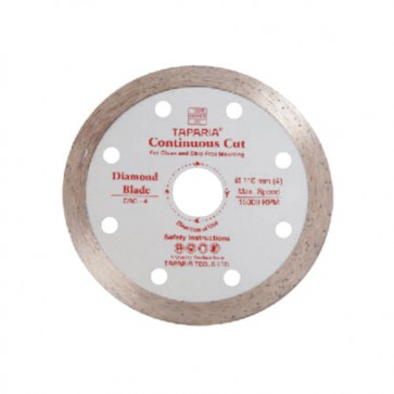 Taparia DBC-4 110mm Continuous Cut Diamond Cutting Blade (Pack of 10)
