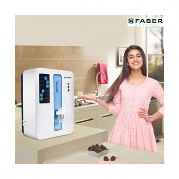 Faber Casper (RO+UV+MAT) 7 Stage 10 liters Mineral Water Purifier (White)