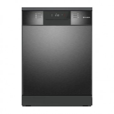 Faber FFSD 8PR 14S BK Stand Alone 14 Place Settings Dishwasher (Black)