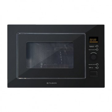 Faber FBIMWO 25L CGS BK Built-in Microwave Oven (Black Glass)