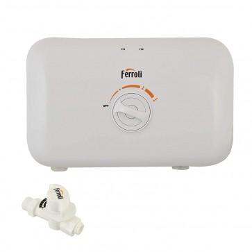 Ferroli Geyser Rita 7.5kw Tankless instant Water Heater