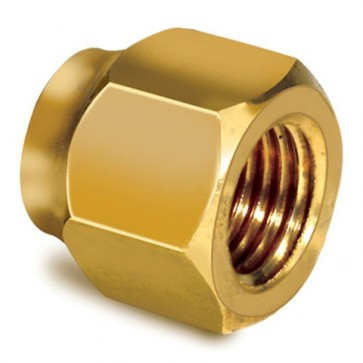 Brass Flare Nut 1 inch (Pack of 2)