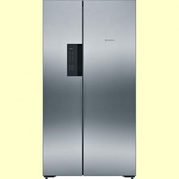 Bosch KAN92VI35I Inverter Refrigerator 658 L Side by Side 2 Door (Inox Easy Clean)