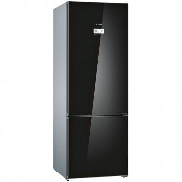 Bosch KGN56LB41I 3 Star Inverter Refrigerator 559 L (Black Glass Door)