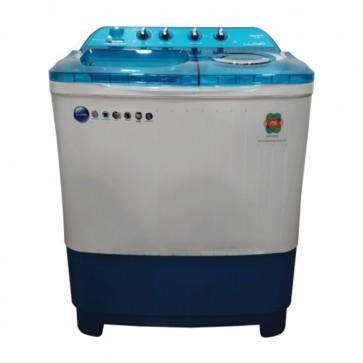 Lloyd LWMS75BDB 7.5 kg Semi Automatic Washing Machine (Blue)