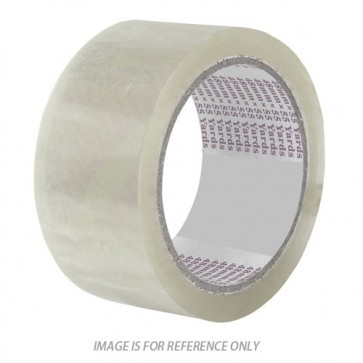 Super 2 inch Transparent Packing Tape 100 meter (Pack of 6)