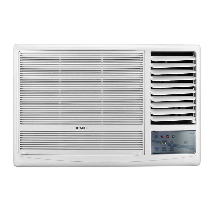 Hitachi Kaze Plus RAW518KUDZ1 1.5 Ton 5 Star Window AC