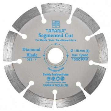 Taparia DBS-5 125mm Segmented Cut Diamond Cutting Blade (Pack of 10)