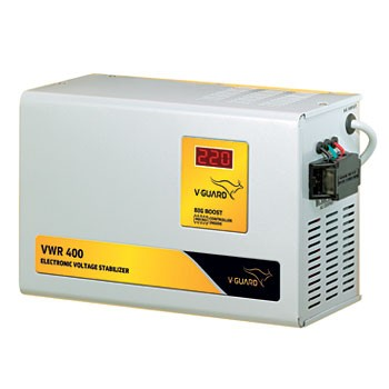 V-Guard VWR 400 4KVA 130V-300V Digital Voltage Stabilizer (Upto 1.5 Ton AC)