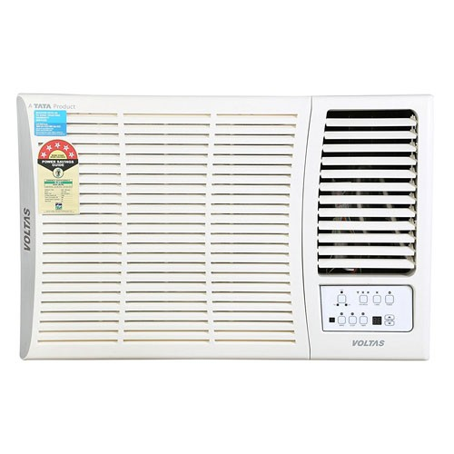 Buy voltas 185dy 1 5 ton 5 star window ac copper online at for 1 5 ton window ac price india