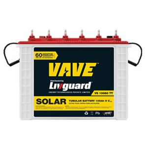 Livguard 10060TT Tall Tubular Solar Battery 100AH