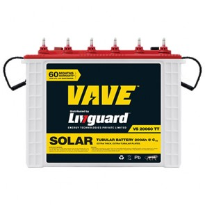 Livguard 20060TT Tall Tubular Solar Battery 200AH