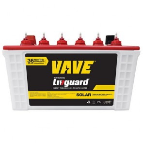 Livguard 7536ST Short Tubular Solar Battery 75AH