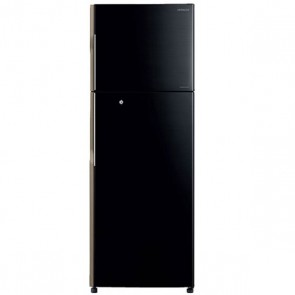 Hitachi R-H270PND4K-PBK 3 Star Inverter Refrigerator 253 L Glass Pure Black