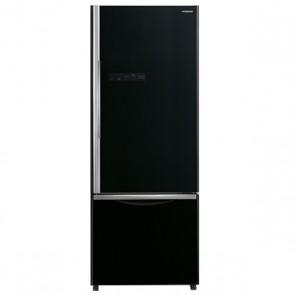 Hitachi R-B570PND7-GBK 2 Star Inverter Refrigerator 525 L Bottom Freezer Glass Black (2 Door)
