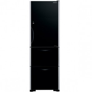 Hitachi R-SG32 FPND-GBK Inverter Refrigerator 342 L Glass Black