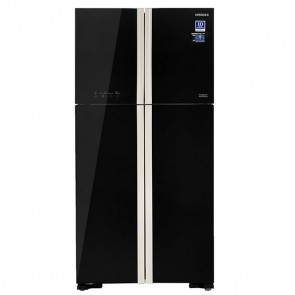 Hitachi R-W610PND4-GBK Inverter Refrigerator 583 L Glass Black
