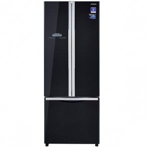 Hitachi R-WB480PND2-GBK Inverter Refrigerator 456 L Glass Black