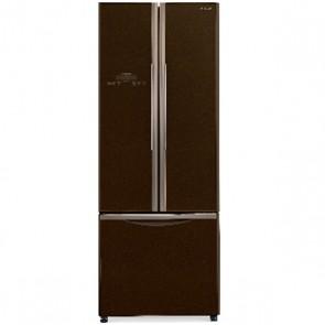Hitachi R-WB490PND9 -GBW-FBF Inverter Refrigerator 451 L French Bottom Freezer Glass Brown (3 Door)