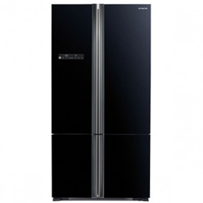 Hitachi R-WB730PND5 - GBK-FBF Inverter Refrigerator 650 L Glass Black - French Bottom Freezer (Side by Side 4 Door)