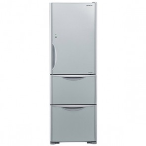 Hitachi R-SG32 FPND-GS Inverter Refrigerator 342 L Glass Silver