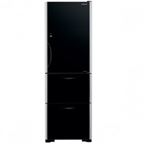 Hitachi R-SG38 FPND-GBK Inverter Refrigerator 404 L Glass Black