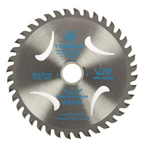 Taparia TCTXL430 110mm Professional Quality TCT Wood Cutting Blade (Pack of 5)