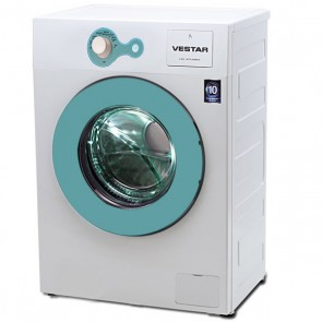 Vestar VWTFL60QBWBL 6 kg Front Load Fully Automatic Washing Machine