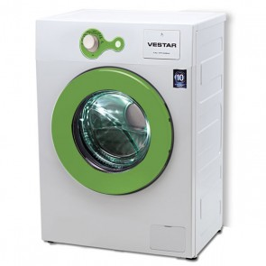Vestar VWTFL60QBWGN 6 kg Front Load Fully Automatic Washing Machine