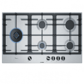Bosch PCS9A5C90I Built-in Gas Hob 90cm Stainless Steel (5 Burner)
