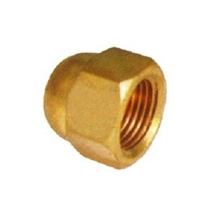 Totaline Brass Dead Nut 1/4 inch (Pack of 25)