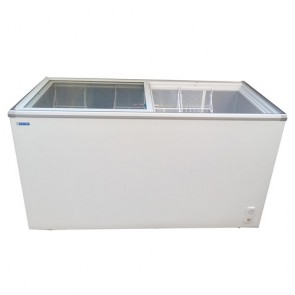 Blue Star Glass Top Deep Freezer 400 Litres GT400A