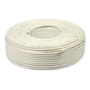 Baba PVC Insulated 4 mm 4 core Copper Wire 45 meter (White)